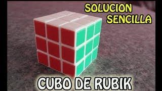 Como resolver el Cubo de Rubik - Facil y Sencillo (Paso a Paso) PARTE 1 thumbnail