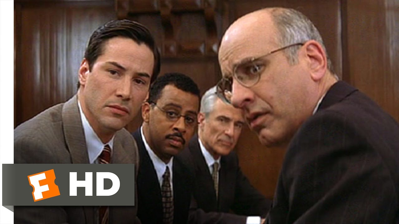 Download The Devil's Advocate (1/5) Movie CLIP - Jury Selection (1997) HD