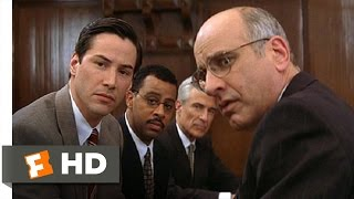 The Devil's Advocate (1/5) Movie CLIP - Jury Selection (1997) HD