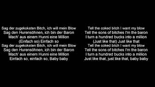 BAUSA - BARON feat. Lativ prod. by ILLthinker | Lyrics Deutsch-English