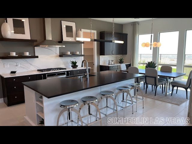 New Luxury Homes for Sale Summerlin Las Vegas | Carmel Cliff by Pulte Homes | Pesaro Home Tour 1m+