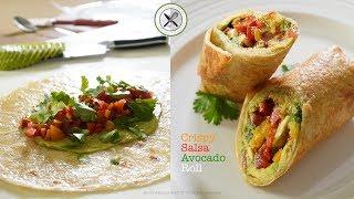 Crispy Salsa Avocado Roll – Bruno Albouze – THE REAL DEAL