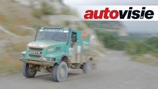 Vol op het gas in de Dakar-truck van Gerard de Rooy