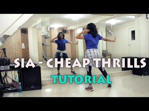 Dance Tutorial || SIA CHEAP THRILLS || Hiphop Choreography