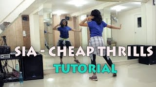 Dance Tutorial || SIA CHEAP THRILLS || Hiphop Choreography