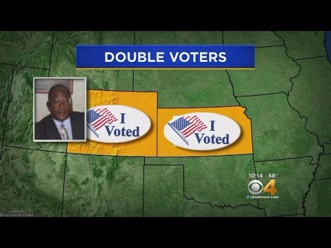 CBS4 Investigation Finds People Voting Twice