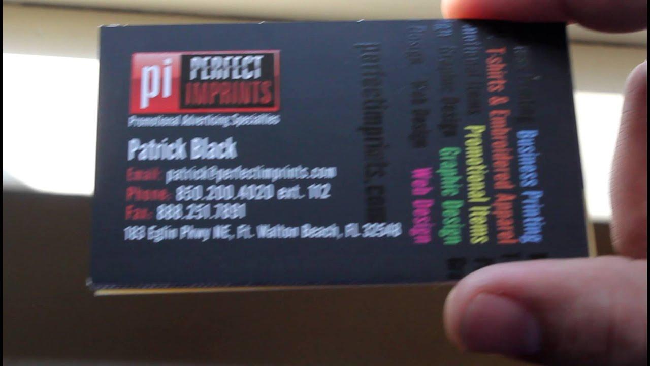 Business Card Printing Fort Walton Beach Destin FL - YouTube