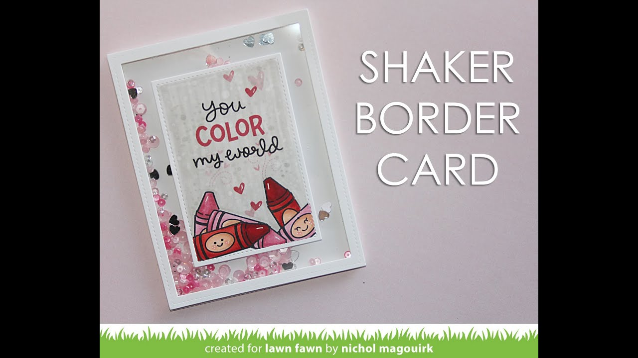 Lawn Fawn | Color My World Stamp Set - YouTube