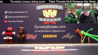 DYNASTY BREAKS - Sports Card Box and Case Group Breaks LIVE