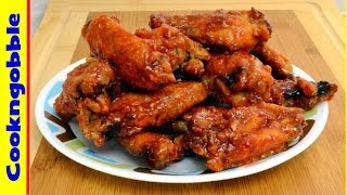 Rotisserie Chicken Wings, Crunchy And Tasty