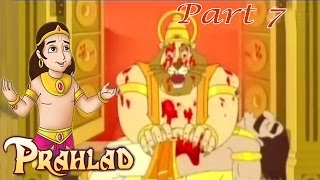 Bhakta Prahalad - Hiranyakashipu Destroyed By Narasimha - Hindi Animated Movie Part 7