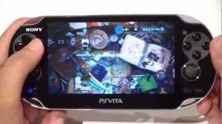 PlayStation Vita Review Arabic - معاينة جهاز سوني بلاي ستيشن فيتا