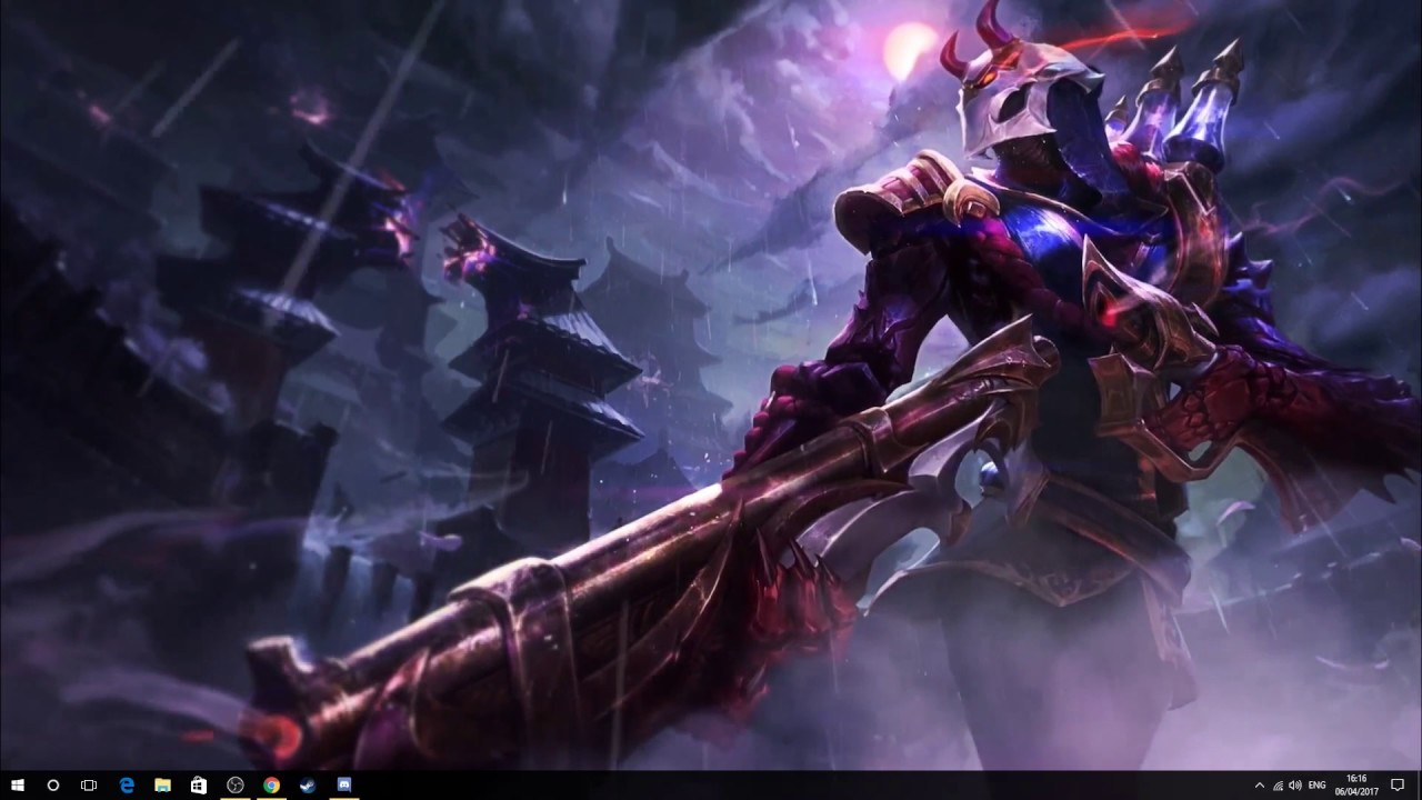 Blood Moon Jhin Background Wallpaper Engine Youtube