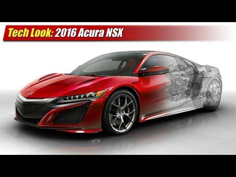 Tech Look: 2016 Acura NSX