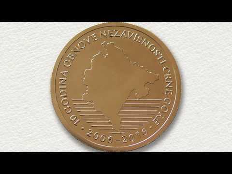 Promotivni video zapis jubilarnog novca CBCG - 10 godina nezavisnosti