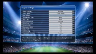 Pro Evolution Soccer PES  2014 -  Control Settings