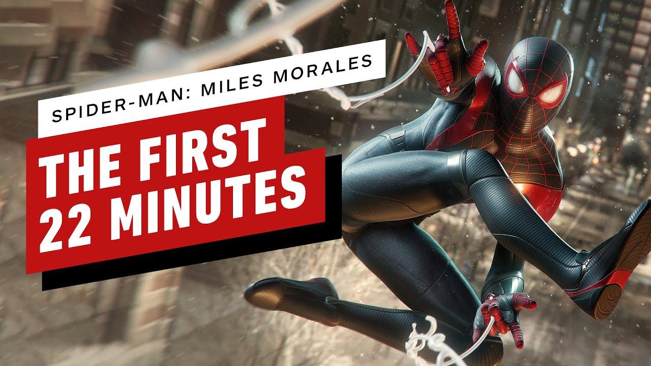 Spider-Man: Miles Morales'in ilk 22 dakikası Videosu