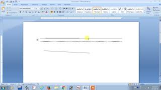 ms word Secret Magic Tricks in Hindi   5 Ways to draw line