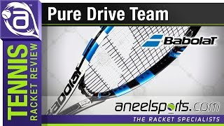 BABOLAT Pure Drive Team, Tennis Racket Review - AneelSports.com