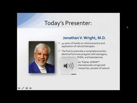 Webinar: Menopause & Andropause Clinical Cases With Dr. Jonathan Wright & Dr. Daved Rosensweet