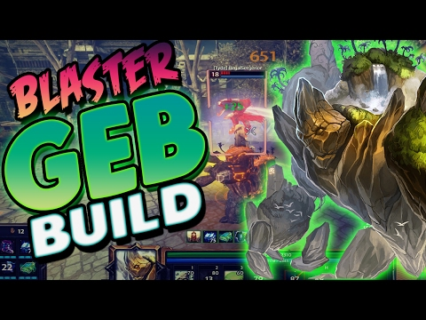 Smite: Blaster Geb Build - Have Ya Ever Been Deleted By A Geb Before?