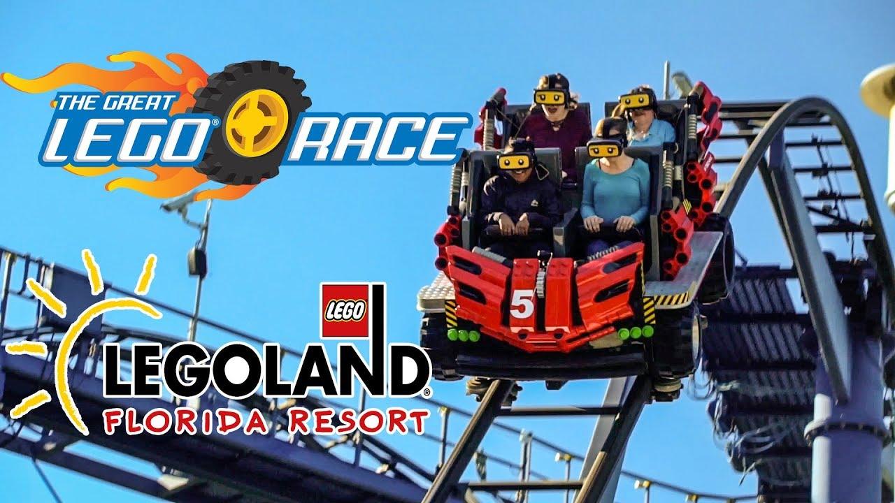 Image result for legoland florida virtual reality coaster