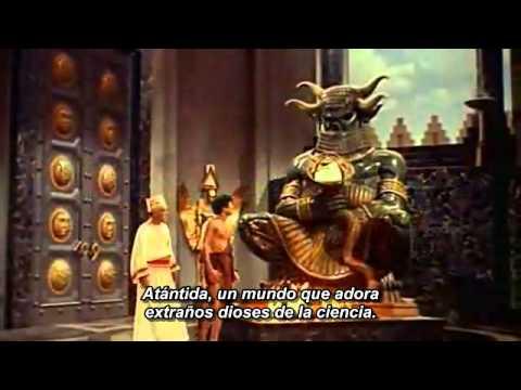 Atlantis, the Lost Continent (1961). Trailer. Subtitulado al español.