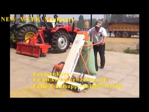 Paddy Collecting And Bagging Machine