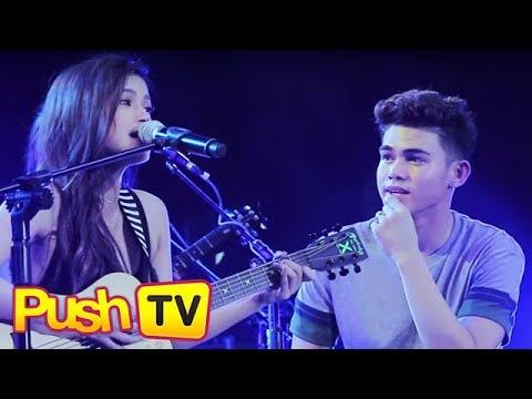 Push TV: Maris Racal performs original song for Inigo Pascual