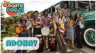 Adonay - Loquito Por Ti ( Letra oficial de la canción)