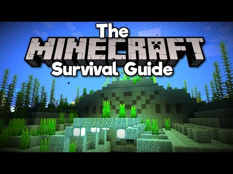 Taking On An Ocean Monument! ▫ The Minecraft Survival Guide (Tutorial Lets Play) [Part 40]