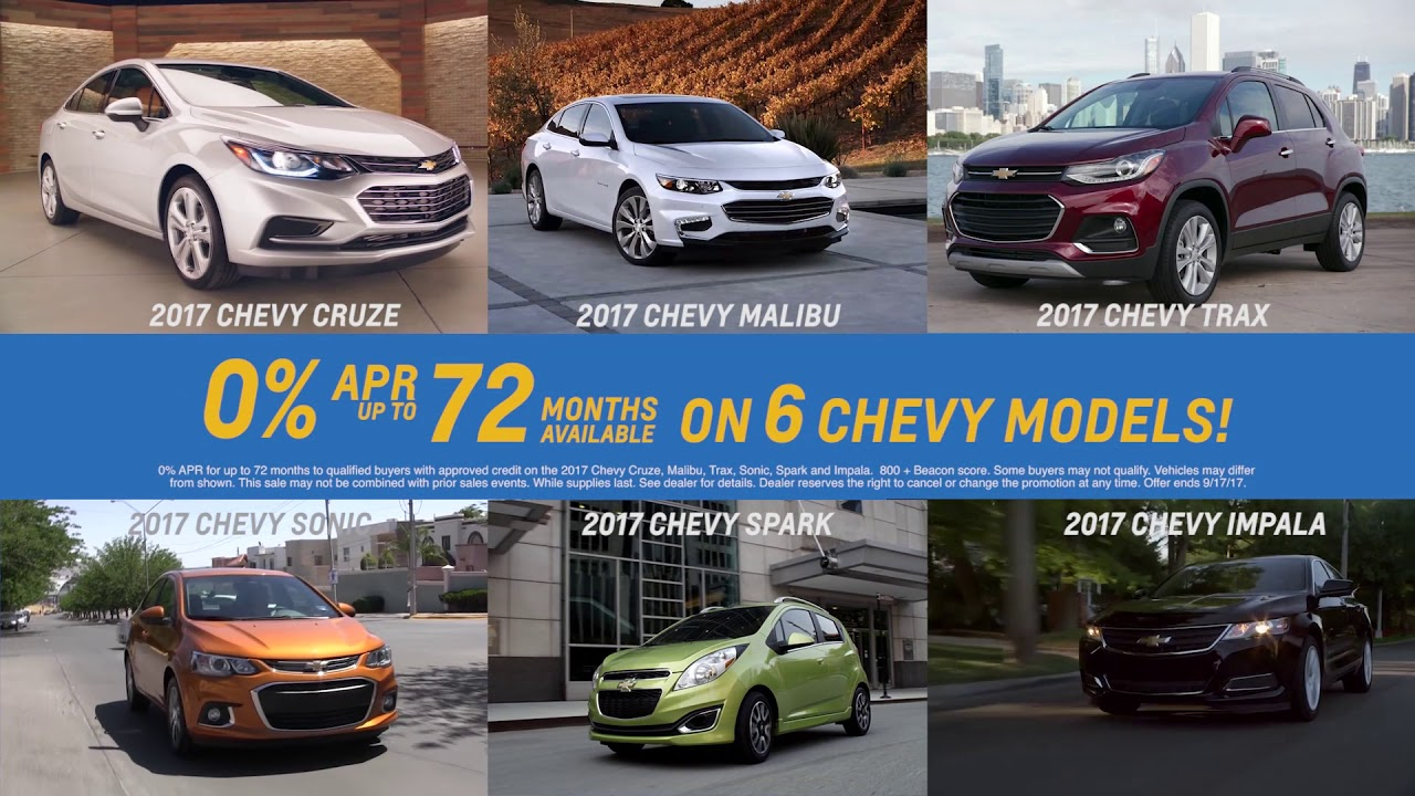 VanDevere Chevrolet - Labor Day Sale Commercial - 0% APR for 72M on