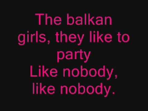 Elena Gheorghe- The balkan girls(lyrics)