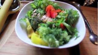 Fit Foodie- Sweet Lemon And Garlic Kale Salad-