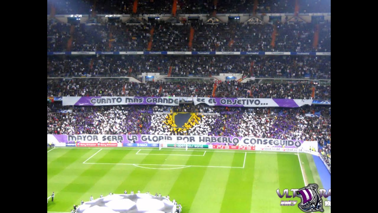 Tifos Ultras Sur RMCF - YouTube