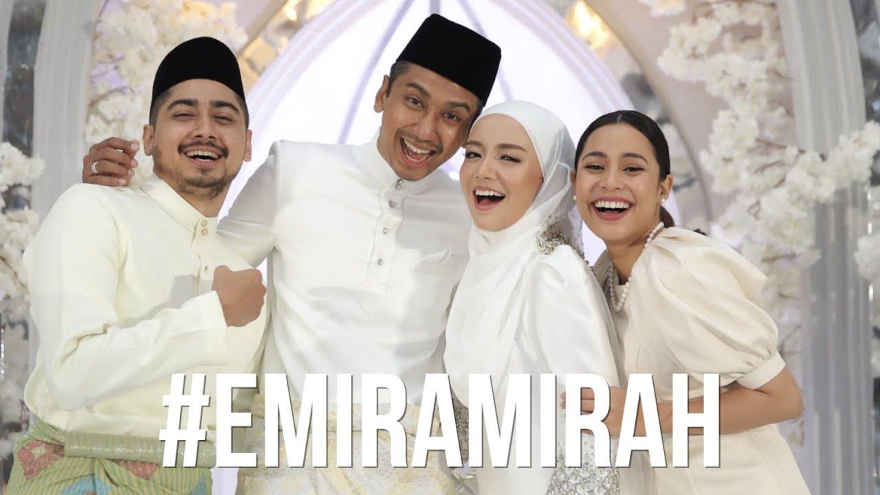 Wan Emir & Mira Filzah WEDDING VLOG #emiramirah