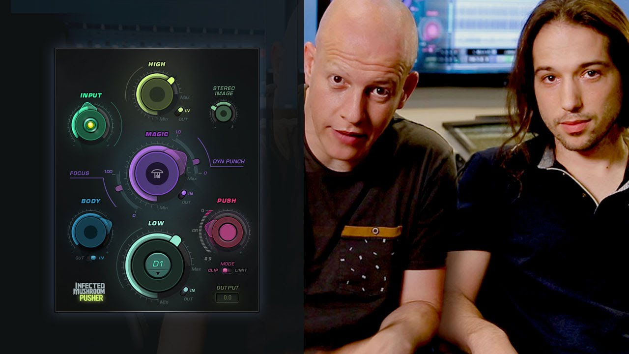 New Infected Mushroom plugin: Pusher by Waves - gearnews com