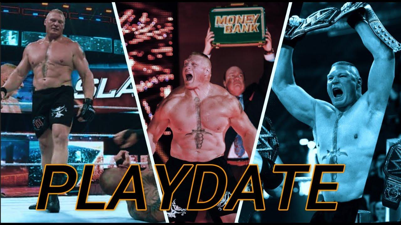 Brock Lesner Tribute || PLAYDATE || Promo 2021