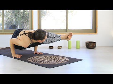 Suda con YOGA para todo cuerpo - Ayuda a perder peso - intermedio   MalovaElena