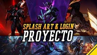 PROYECTO: Cazadores - SPLASH ART y LOGIN Vayne, Jhin y Vi | Noticias League Of Legends