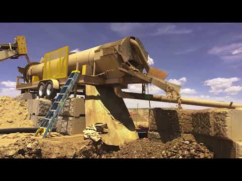 Gold Mining Solutions -  30-06 Trommel 100+ YPH - Custom Recovery