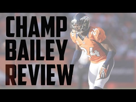 Champ Bailey Review!!! 91 overall CB - Madden Ultimate Team 17