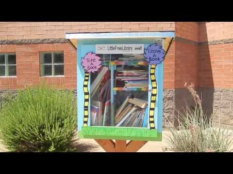 Copper Canyon Elementary School Little Free Library Tour