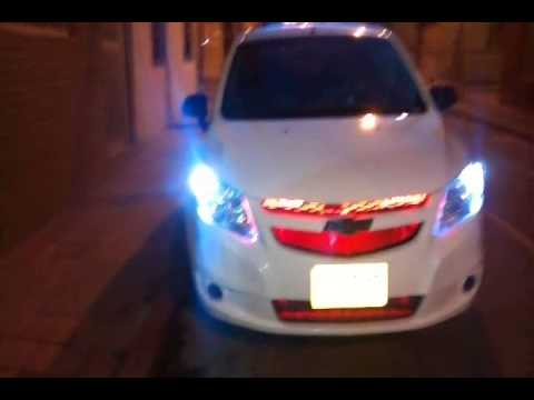 Luces HID Chevrolet Sail - YouTube