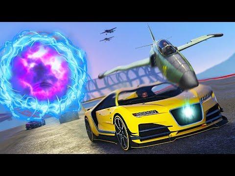 GTA 5 Online - EXTREME TRANSFORM RACES!! (GTA 5 DLC)