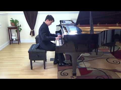 Arthur Yan   Mendelssohn Etude in B flat minor