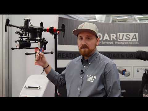 Lidar USA unveils lidar system for DJI drone at Intergeo