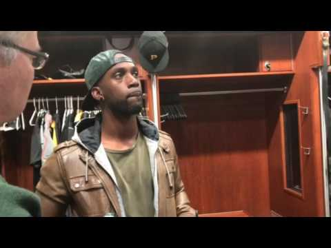 Andrew McCutchen talks adjustment to right field after Pittsburgh Pirates' home opener