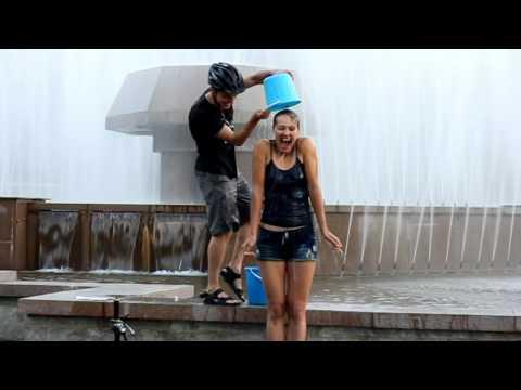 ALS Ice Bucket Challenge Almaty