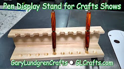 Pen Display Stand for Craft Shows  Ep.2017-30